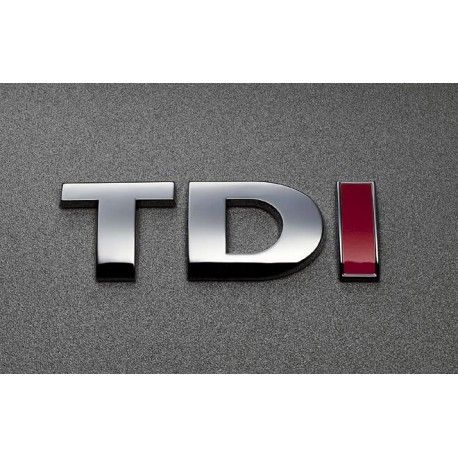 Emblema TDI (3D in relief)