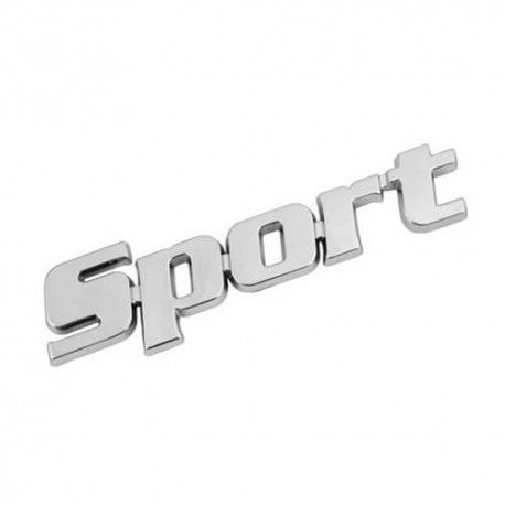Emblema Crom Sport (3D in relief)