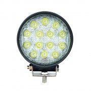 Proiector LED Auto Offroad 42W/12V-24V, 3080 Lumeni, Rotund, Spot Beam 30 Grade