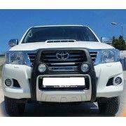 Bullbar poliuretan cu proiectoare Toyota Hilux Revo 2015, 2016, 2017 TYA405