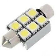 Led auto Canbus sofit 39 mm 6 SMD