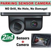Sistem de parcare 2 in 1 cu camera de marsarier si senzor de parcare incorporat S450