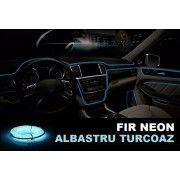 Fir Neon Albastru Turcoaz- Lungime 5M