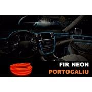 Fir Neon Portocaliu - Lungime 2M