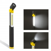 Lampa service, cu COB-LED, telescopic si cu cap rabatabil