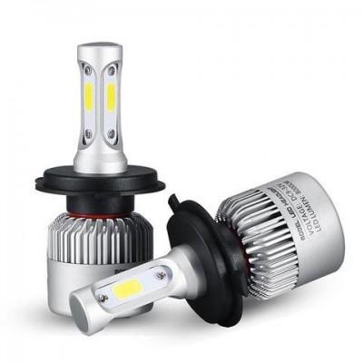 Set Becuri LED H4 - 8000 Lumeni 9-36V