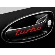 Sticker manere usa - Turbo (set 4 buc.)