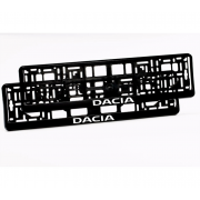 Suporturi numar inmatriculare Dacia
