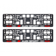 Suporturi numar inmatriculare Audi Sport