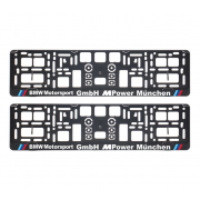 Suporturi numar inmatriculare BMW Motorsport