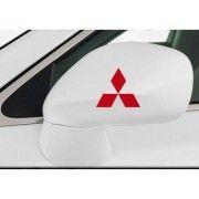 Sticker oglinda Mitsubishi