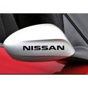 Sticker oglinda Nissan