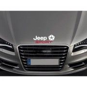 Sticker capota Jeep Sport