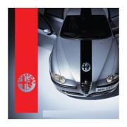 Sticker capota Alfa Romeo
