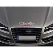 Sticker capota Cadillac Sport