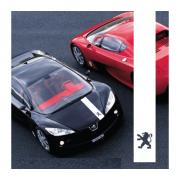 Sticker capota Peugeot (v2)