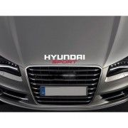 Sticker capota Hyundai Sport
