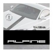 Sticker capota Alpine