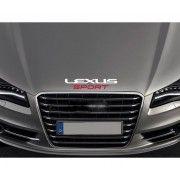 Sticker capota Lexus Sport