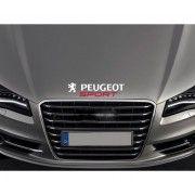 Sticker capota Peugeot Sport