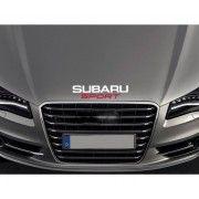 Sticker capota Subaru Sport