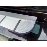 Protectie portbagaj - Negru mat si Aluminiu Texturat