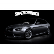 Sticker Parbriz Supercharged