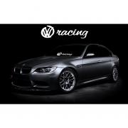 Sticker Parbriz VW Racing