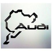 Sticker auto geam Audi