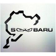 Sticker auto geam Subaru