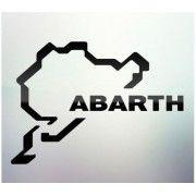 Sticker auto geam Abarth