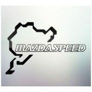 Sticker auto geam Mazda Speed