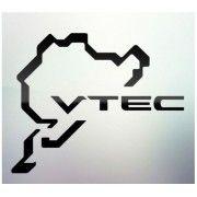Sticker auto geam VTEC