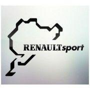 Sticker auto geam Renault