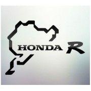 Sticker auto geam Honda R