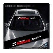 Sticker parasolar auto NISSAN Sporteam
