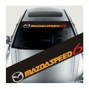 Sticker parasolar auto Mazda Speed