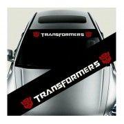 Sticker parasolar auto Transformers