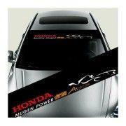 Sticker parasolar auto Honda
