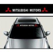 Sticker parasolar auto Mitsubishi
