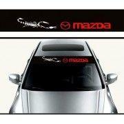 Sticker parasolar auto Mazda