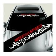 Sticker parasolar auto NFS