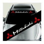 Sticker parasolar auto Mitsubishi (v2)