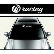 Sticker parasolar auto VW Racing