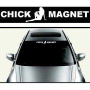 Sticker parasolar auto Chick Magnet
