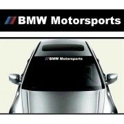 Sticker parasolar auto BMW Motorsport