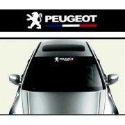 Sticker parasolar auto Peugeot