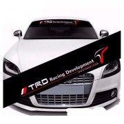 Sticker parasolar auto TRD Racing