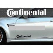 Set 2 buc. sticker auto lateral - Continental