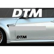 Set 2 buc. sticker auto lateral - DTM